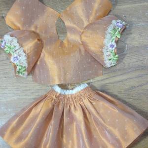 シャルロットちゃんのドレス