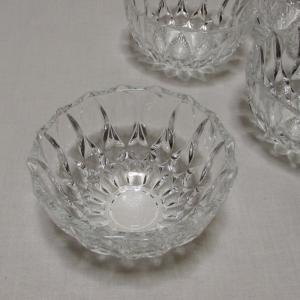 昭和レトロなキューピーのガラス小鉢 サラダボウル