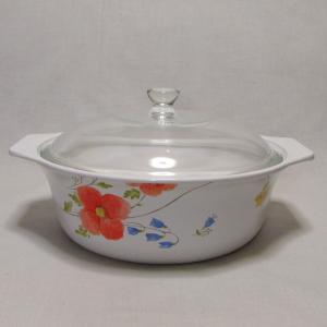 ナルミのクックマスター 花柄の可愛い大きめ深鍋