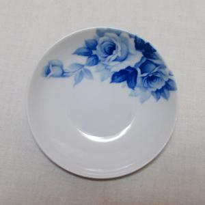 戦前のノリタケの豆皿 小皿 ブルーローズ