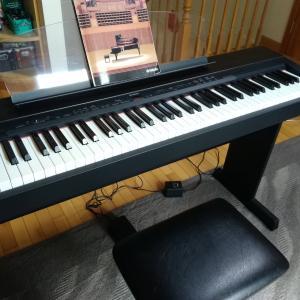 ヤフオクに電子ピアノを出品した