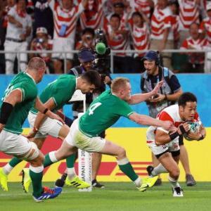 日本、アイルランドに勝利!