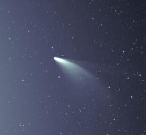ネオワイズ彗星を見た