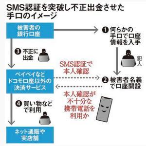SMS認証を突破した犯人