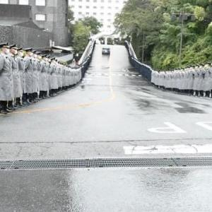 中曽根元首相の合同葬