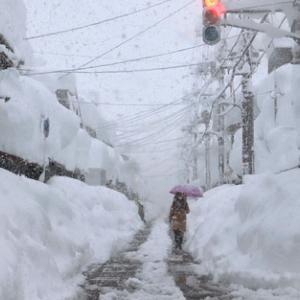 記録的な大雪とコロナ