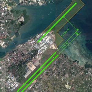 Cebuマクタン国際空港第2滑走路と妻の実家は強制移転?