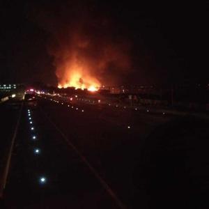 マクタン島、ラプラプ、イボ地域で火事!妻の実家もあわや!