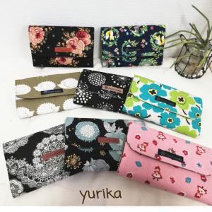新しい作家yurikaさんの布小物①カードケース✩.*˚