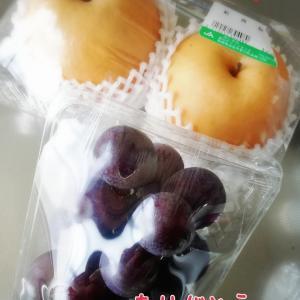 梨とブドウとリサイクル