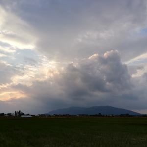 雲ほぼほぼなし☁️