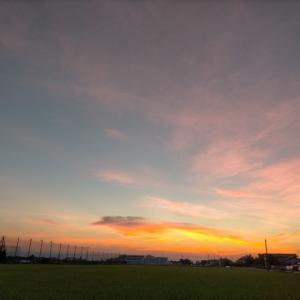 朝の空はHAPPY色(ˊᗜˋ)☀
