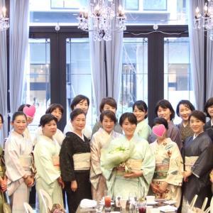【湘南・お着物ランチ会3周年記念パーティー】無事開催できました!