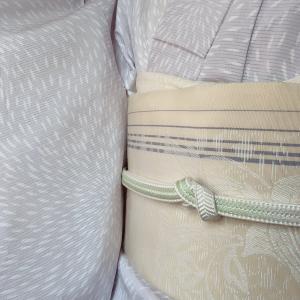 今季は枚数少ない正絹の薄物を、本当にたくさん着ました。