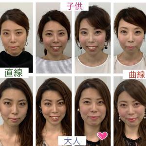 着物メイク/美人に見せたい方は顔分析メイク、個性を生かしてステキになりたい方は顔タイプメイクを!