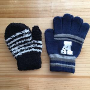 ダイソーで買った息子たちの手袋と我が家のリピート買い*