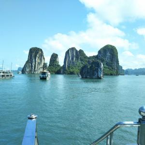 定年でもベトナム。ハノイで始める、お仕事日記 19 - ハロン湾へ(2019年9月8日/8日め)