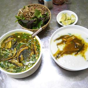 定年でもベトナム。ハノイで始める、お仕事日記 49 - ベトナムのお昼ごはん「田ウナギの春雨スープ麺(Miến lươn:ミエン・ルオン)」(2019年9月18日/18日め)