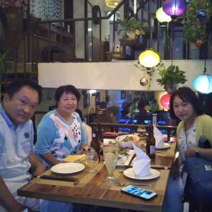 定年でもベトナム。ハノイで始める、お仕事日記 106 - ハノイ市内観光⑥ Duong's Restaurant でディナー(2019年10月11日/41日め)