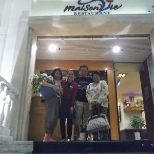 定年でもベトナム。ハノイで始める、お仕事日記 110 - Maison Vie で、ベトナムフレンチディナー(2019年10月12日/42日め)