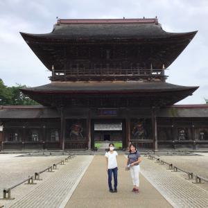 コロナでも金沢。3人で歩いた、3泊4日のおトク旅 1 - 国宝 高岡山瑞龍寺(2020年7月24日/1日め)