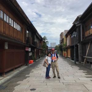 コロナでも金沢。3人で歩いた、3泊4日のおトク旅 16 - 近江町食堂、焼鯖寿しと加賀友禅マスク(2020年7月26 日/3日め)
