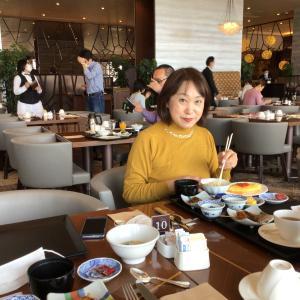 コロナでも雛旅。古(いにしえ)の雛を訪ねる、4泊5日の長野・岐阜・愛知 49 - 名古屋マリオットアソシアホテルで朝食ビュッフェ(2021年3月30日/5日め)