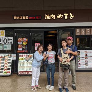 全盲難聴・のんたんの夏休み 2 - お寿司と焼き肉で、ごちそうまつり(2021年8月7日-8日/1日め-2日め)