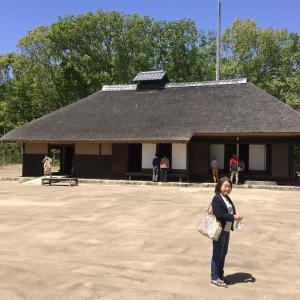 コロナでも茨城。ネモフィラの丘と弘道館を訪ねて 2 - みはらしの里から旧會澤家住宅へ(2021年4月23日)
