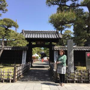 コロナでも足利。織姫神社と足利学校を訪ねて 1 - 足利学校(入徳門と学校門)(2021年4月30日)