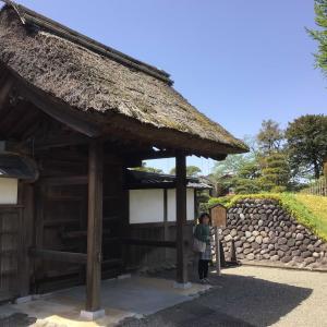 コロナでも足利。織姫神社と足利学校を訪ねて 4 - 足利学校(庫裏、衆寮、木小屋、土蔵、裏門、遺蹟図書館、そして庠主の墓へ)(2021年4月30日)