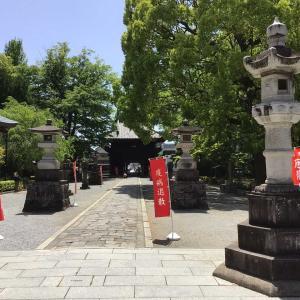 コロナでも足利。織姫神社と足利学校を訪ねて 7 - 鑁阿寺(大イチョウ、多宝塔、不動堂と経堂)(2021年4月30日)