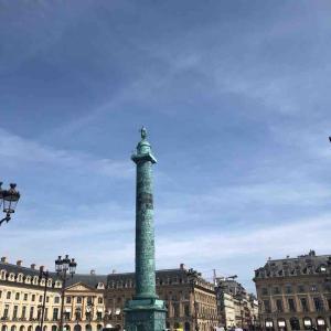 パリマラソン大会直後、とパリのランダムな風景