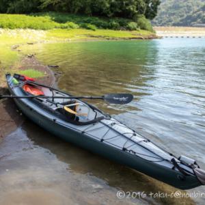 丹沢湖で進水式!フジタカヌー アルピナ2 460で漕ぎ出そう~!