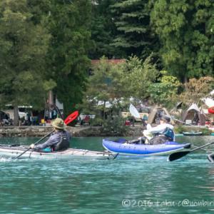 青木湖でカヤックSUP!ナチュログ写真部漕艇課キャンプ2020-後編-
