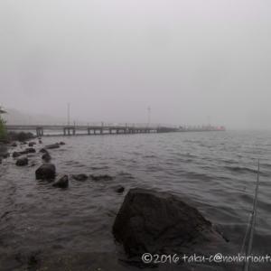 芦ノ湖でトラウトを狙う!2回目の釣行もショアジギングで攻めますっ!