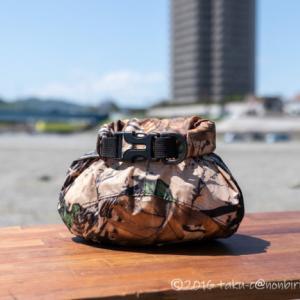 キャンプにスタッフサック!小物整理のバッグにおすすめですw