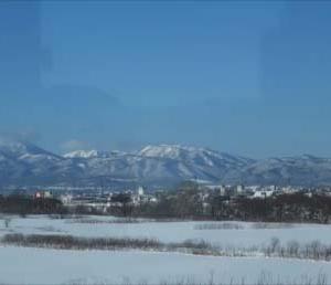 雪まみれの旭川~札幌間【高速あさひかわ号】(2020避寒旅1日目その2)