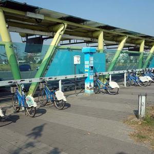 【台湾高雄1人旅】市内の移動にはレンタサイクル[C-bike]が便利!クレジットカードで借りるにもこんなに簡単!
