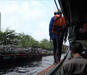 【タイバンコク】センセーブ運河の水上ボートを使えば約40円でカオサン⇔プラトゥナームを渋滞なく行き来できます♪