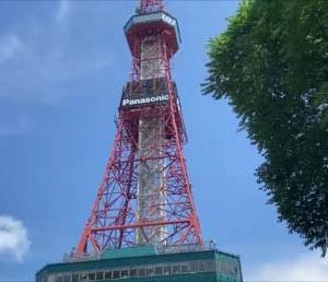 【札幌5泊6日1人旅1日目】さぁ!まわろうSAPPORO~見どころ施設無料化月間~さっぽろテレビ塔からの札幌市街地風景