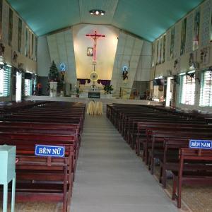 結婚式 カトリック教会にて