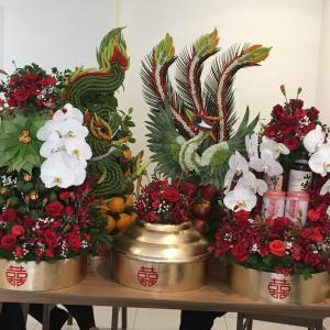 ベトナムの婚約式は贈り物の嵐!