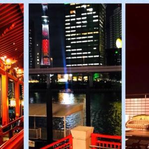 今年のクリスマスパーティー!浅草スカイツリーレストラン!