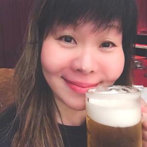 やはりプールのあとの生ビールは最高‼️