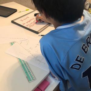 サッカー少年の勉強したくなる瞬間