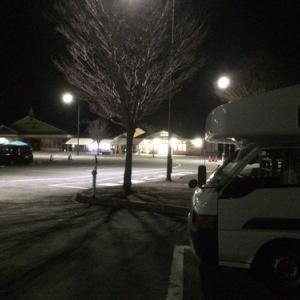 GW放浪の途中、お目当てのRVパークに空きが無く、5日目の夜も道の駅にお世話になります
