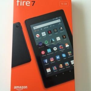 車中泊に役立つかもと、Fire7タブレットをAmazonプライムデーに3,280円で調達