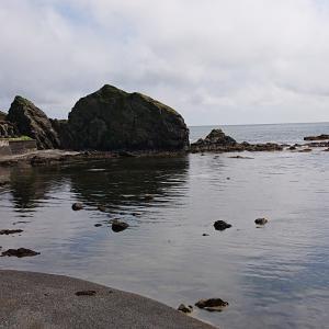 襟裳岬で釣り