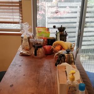 【キッチンカウンター】何を置きたいか?で片付ける。